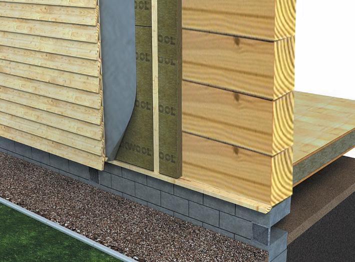Утепление деревянного дома снаружи своими руками